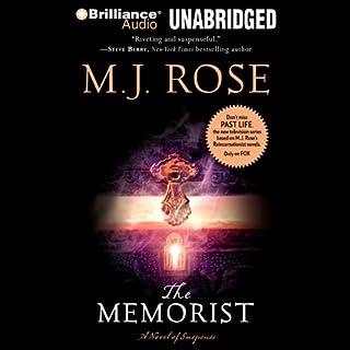 The Memorist audiobook cover art