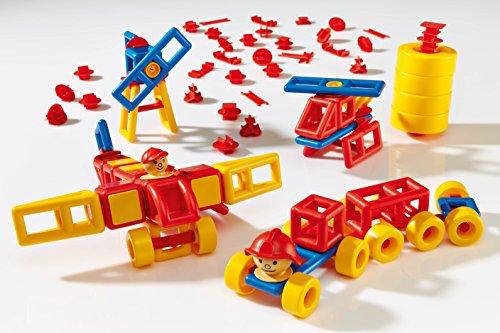 Plasticant Mobilo Standaardset, 120 delen - creatief constructiespeelgoed made in Germany - bouwen, spelen, leren voor kinderen van 3 - 8 jaar
