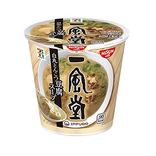 日清食品 一風堂 白丸とんこつ豆腐スープ 29g×6個