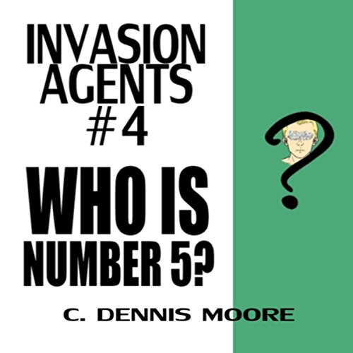 Who Is Number 5? audiobook cover art