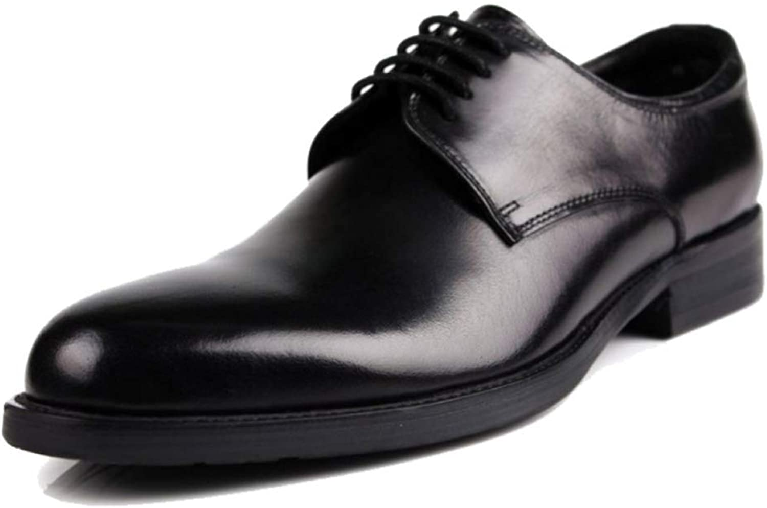 db08f02ba GTYW, Men's, Business Leather Leather Leather Dress shoes, Round Leather  Low shoes, British Casual shoes, 37-44 78bf8e