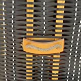 BRAST Strandkorb Premium Ostsee Sonneninsel Poly-Rattan XXL - 9