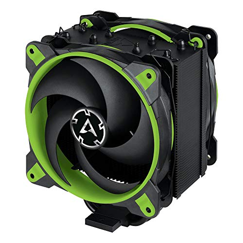 ARCTIC Freezer 34 eSports DUO - Tower CPU Cooler with BioniX P-Series case fan in push-pull, 120 mm PWM fan, for Intel and AMD socket - Green