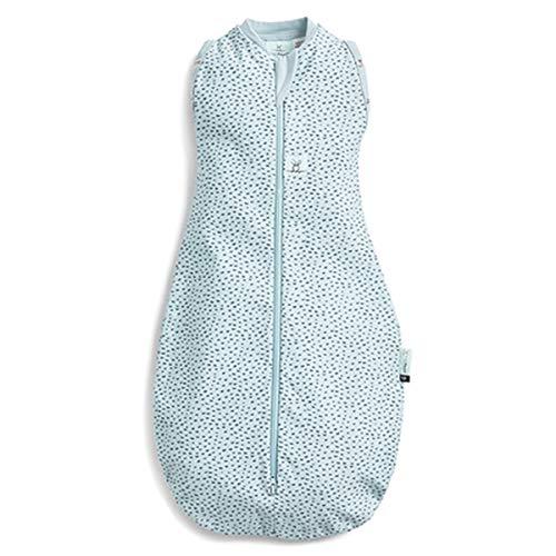 ergoPouch Cocoon - Saco de dormir de verano para bebé, algodón orgánico, Tog 0.2, color gris, 0-3 meses