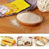 Levadura de Pan, 10 Paquetes de levadura Seca de Alta Actividad levadura de Pan instantánea levadura en Polvo levadura en Polvo para panaderos panaderos panadería Fabricante de Pan Vegano