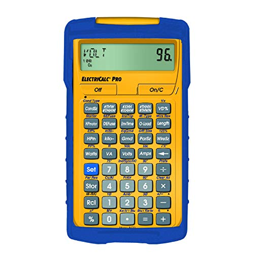 Calculated Industries 5070 ElectriCalc Pro Electrical Code Calculator...
