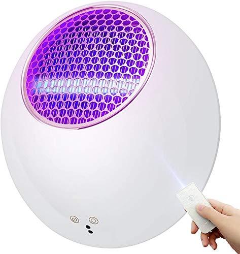 SAFGH Lámpara eléctrica para Matar Mosquitos, Insectos, trampas para Moscas, lámparas de Control, Montaje en la Pared, para Interiores, Descarga eléctrica, Tipo Enchufe silencioso, Comercial, con