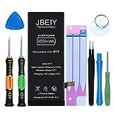Batería para i-Phone 7 Plus, JBEIY Nuevo 3600mAh Batería de súper Alta Capacidad, con Herramienta de Reparación Profesión e Instrucciones-1 año de garantía