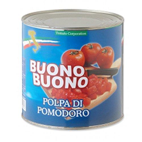 トマトコーポレーション 業務用 カットトマト イタリア産 2.55kg×6缶
