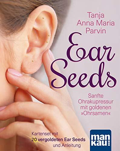 Ear Seeds. Kartenset: Sanfte Ohrakupressur mit goldenen
