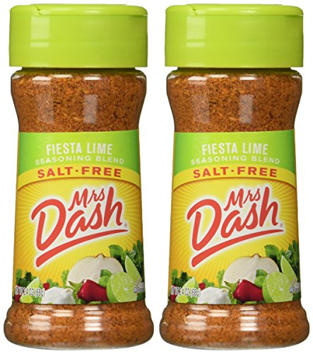 Mrs. Dash Fiesta Lime All Natural Seasoning Blend 2.4 oz (2 Pack)