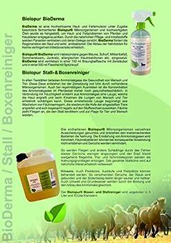 Biolopur Neutralisateur d'odeurs | Désodorisant | Spray | Nettoyant urine, animaux de compagnie, etc. 2 x 0,5 L de concentré donne 10 L de solution prête