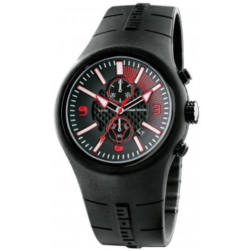 Momo Design MD1009BK-41 - Reloj de Pulsera, Silicona, Color: Negro