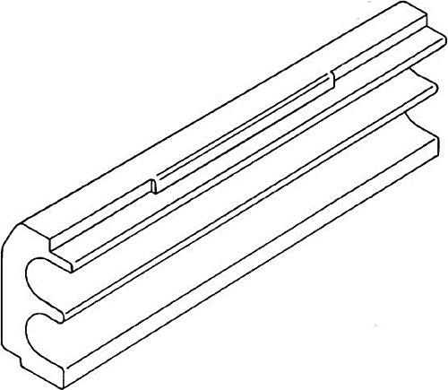 Rehau Elektro.Inst. RAUDUO Isolierschaum 90 DUO Isoschaum 40/105 RAUDUO Kabelschutz für Installationskanal 4007360114114