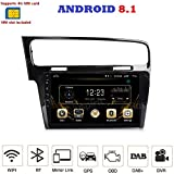 ANDROID 8.1 4G LTE GPS USB Bluetooth autoradio navigatore compatibile con Golf 7