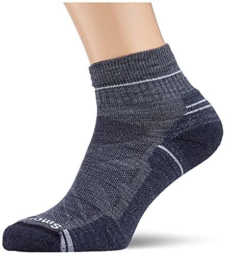 Smartwool Men's Hike Light Cushion Ankle Hiking Socks, medium Gray, L