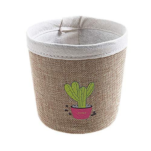 PLUS PO aufbewahrungsbox klein Bad aufbewahrungskorb Kleiner Ablagekorb kleine Box zur Aufbewahrung Mini-Aufbewahrungskörbe Korbspeicher Khaki