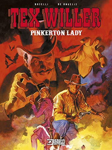 Pinkerton lady. Tex Willer