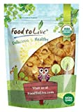 Organic Dried Pineapple Rings by Food to Live — Non-GMO, Unsulfured, Unsweetened, Bulk (8 Ounces)