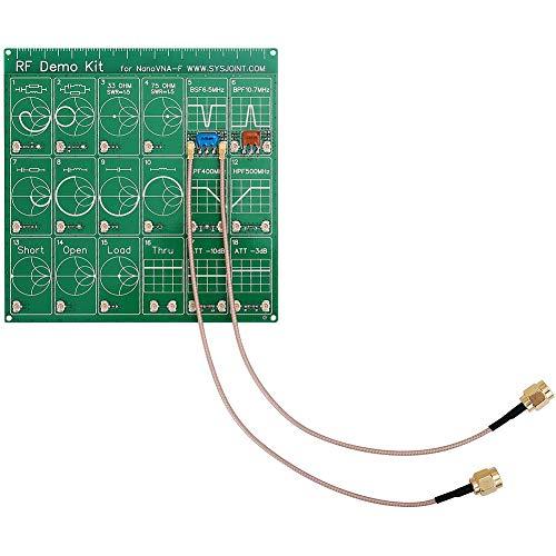 Kit de demostración RF NanoVNA RF Tester Board Filter Atenuador para analizador de red vectorial NanoVNA-F