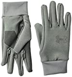 Under Armour Men's Armour Liner 2.0 Gloves , Steel (035)/Graphite , Medium