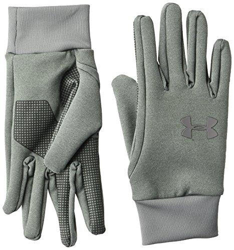 Under Armour Men's Armour Liner 2.0 Gloves , Steel (035)/Graphite , Medium