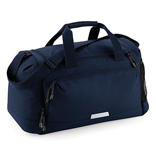 Quadra - Bolsa deportiva de viaje con asa para el hombro modelo Academy (Talla Única Azul marino)