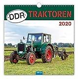 Technikkalender 'DDR-Traktoren' 2020: 30 x 30 cm, mit Bildern von Ralf-Christian Kunkel