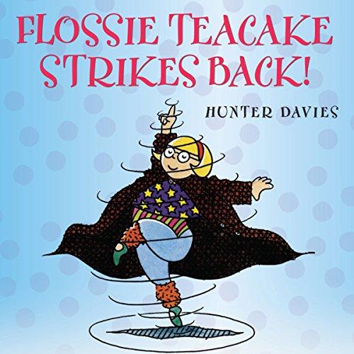 Flossie Teacake Strikes Back! audiobook cover art