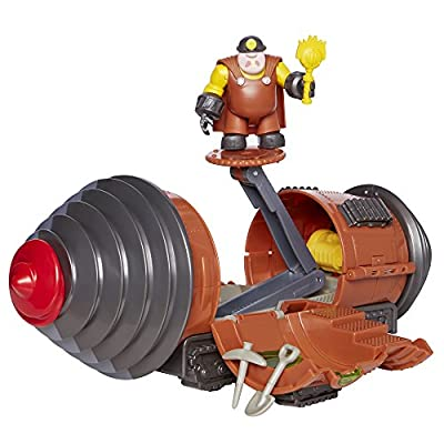 The Incredibles 2 Tunneler Vehicle Play Set with Junior Super Underminer Figure and 3 Accessory Pieces from Jakks