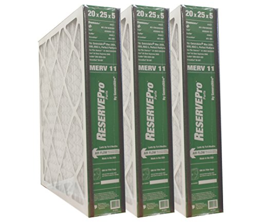 "3-PK ReservePro 4551 (old #4501) 20""x25""x5"" Air Filter-Actual Size= 19 5/8"" x 24 3/16"" x 4 15/16""- 6FM2025"