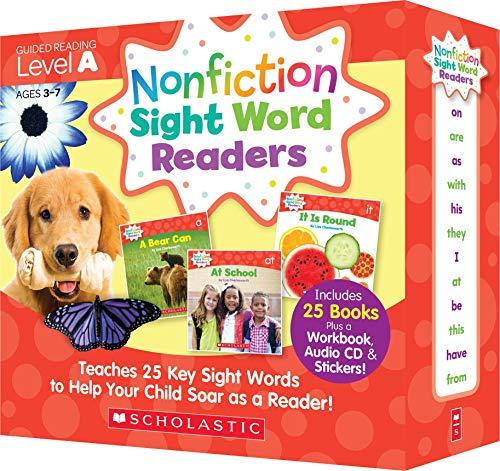 スカラスティック Nonfiction Sight Word Readers レベル A 英語教材 25冊セット CD付