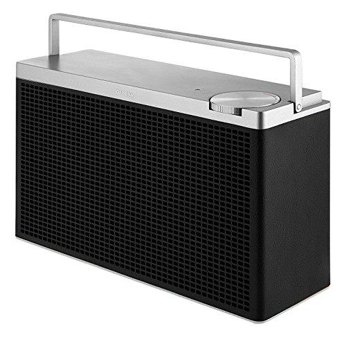 Geneva Touring M Tragbarer Bluetooth HiFi Lautsprecher, Schwarz