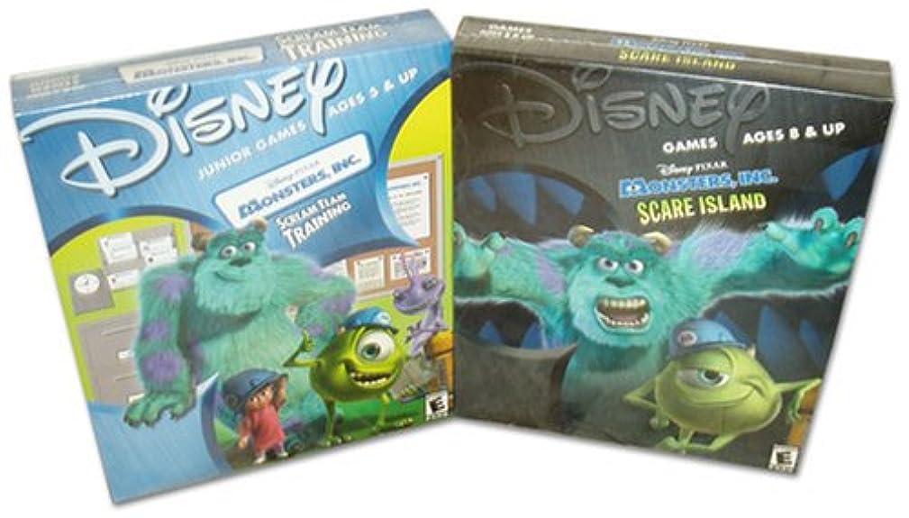 Disney Pixar Monsters, Inc. Scare Island and Scream Team Training
