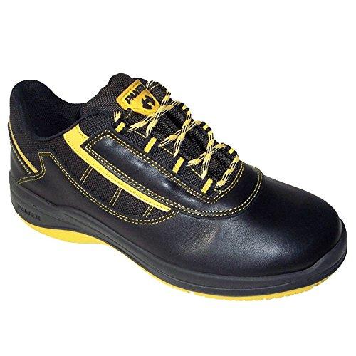Panter M235091 - Zapato seguridad ozone oxigeno negro talla 41