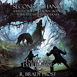 Second Chance - A Battle Mage Reborn, Book 1 cover art
