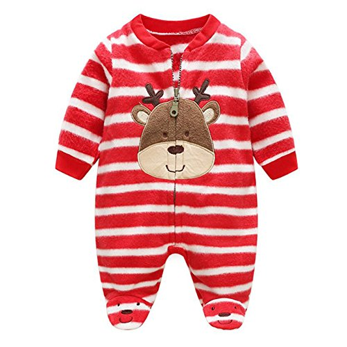 WEIMEITE Baby Rompers Christmas Baby Boy Clothes Ropa Recién Nacida Polar Fleece Baby Girl Ropa Roupas Bebe Infant Baby Jumpsuits