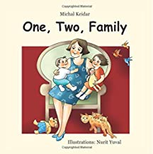 Children book: One, Two, Family: A single parent family