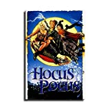 Hocus Pocus (1993 ) Movie Film posters Wall Art for Living Room Print Artwork Wall Art Decor Poster Painting Bedroom Bathroom Decorations Canvas Prints Picture Home Office Wall Decor (20x30inch,No frame)