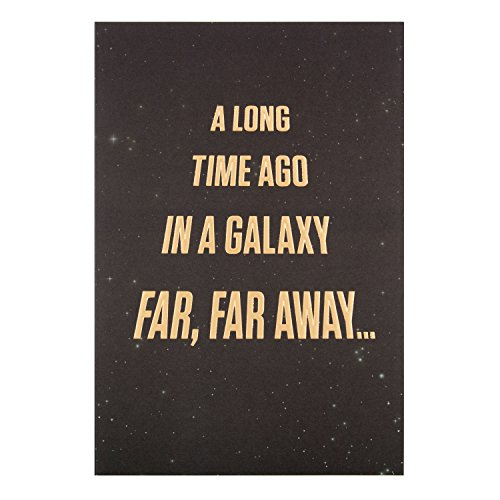 Hallmark Geburtstagskarte für Star Wars