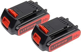 Masione 20-volt Batería para herramientas eléctricas Black & Decker LBXR20LB20LBX20lbxr2020-ope lbxr20b-2