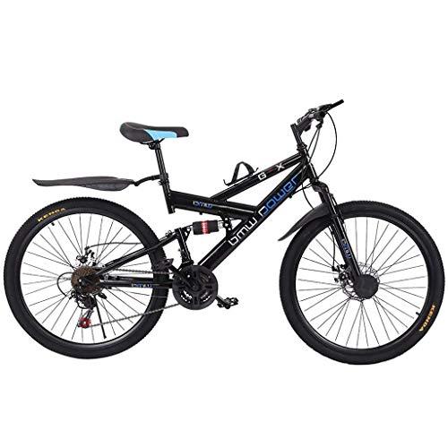 Great fun Bicicleta de montaña, Bicicleta de Ciudad MTB de 26 Pulgadas Bicicletas de Carretera con Frenos de Doble Disco de 21 Discos, Bicicletas de Ciudad Bicicleta de cercanías