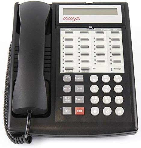 Avaya Partner 18D Phone New product - unisex Refurbished Black Certified