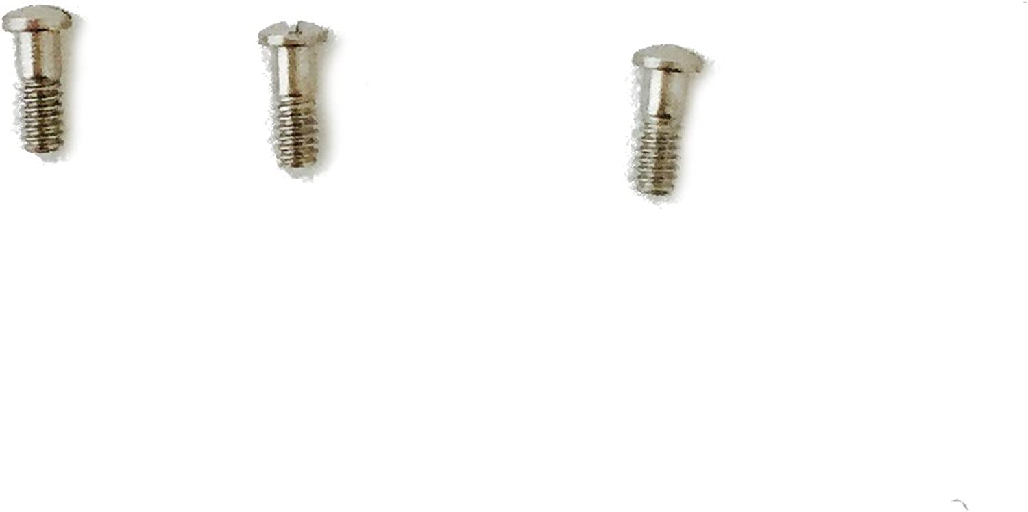 Replacement Hinge Screws to fit Ray-Ban New Wayfarers RB 2132 Sunglasses (Set of 3)