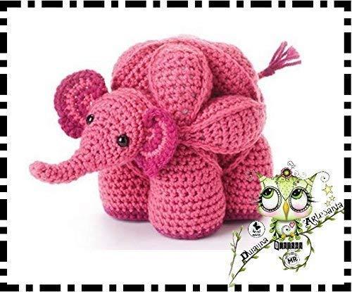 Little elephant amigurumi pattern | Amiguroom Toys | 415x500