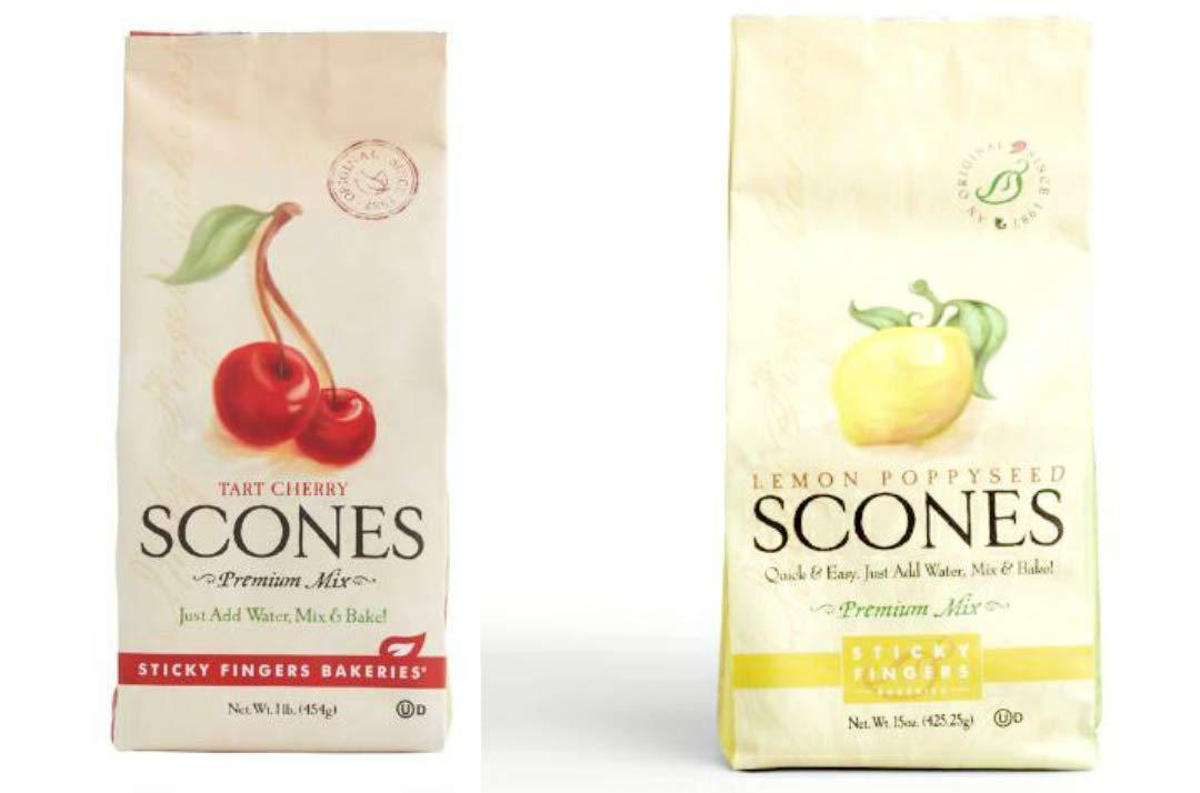 Sticky Fingers Lemon Poppy Seed Scone 15oz Free Shipping New an Mix Many popular brands