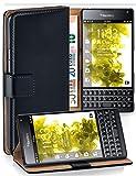 MoEx Funda Cartera [protección 360°] Compatible con Blackberry Passport | Cierre magnético, Noir