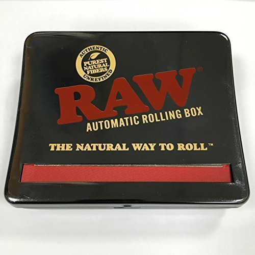 RAW Automatic Rolling Box 110-King Rollbox-Fits King Size, Silber, S
