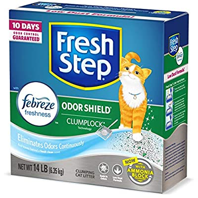 Cat Litter Fresh Step Odor Shield Scented... [tag]