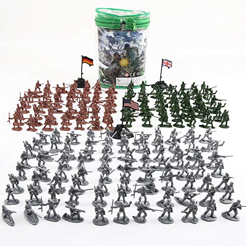 Plastic Army Men Toys for Boys 300 PCS, Little Toys Soldiers Army Guys Action Figures